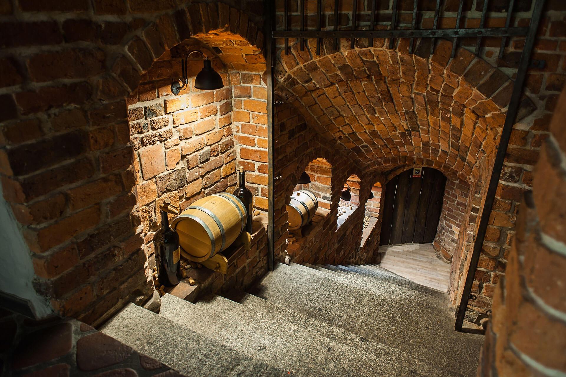 Wine cellar in Zielona Góra's town hall