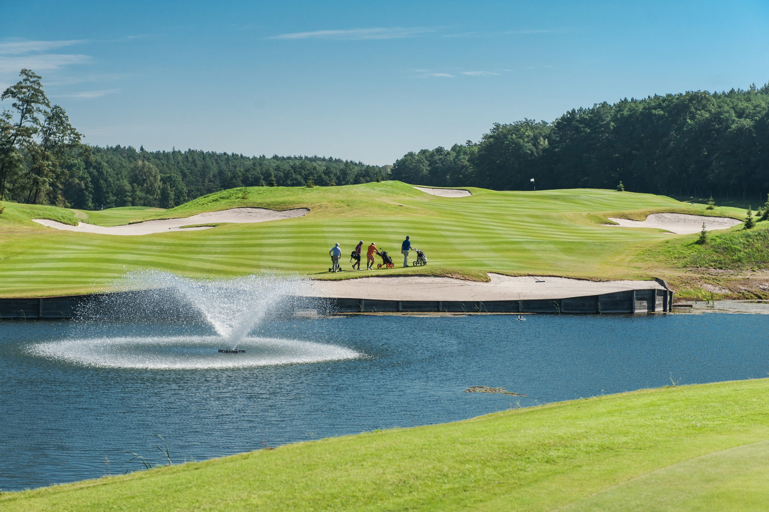 Pole golfowe w Przytoku